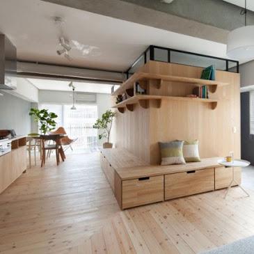 Người Nhật  sắp xếp đồ đạc giúp nhà nhỏ ngăn nắp thế nào ?